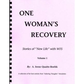 One Woman's Recovery Series