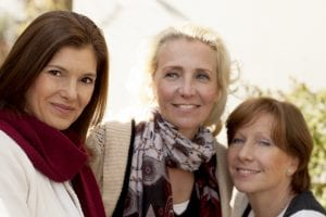 Image: Group of female friends